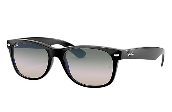 Ray-Ban 0RB2132-NEW WAYFARER FLASH GRADIENT LENSES Nero SUN