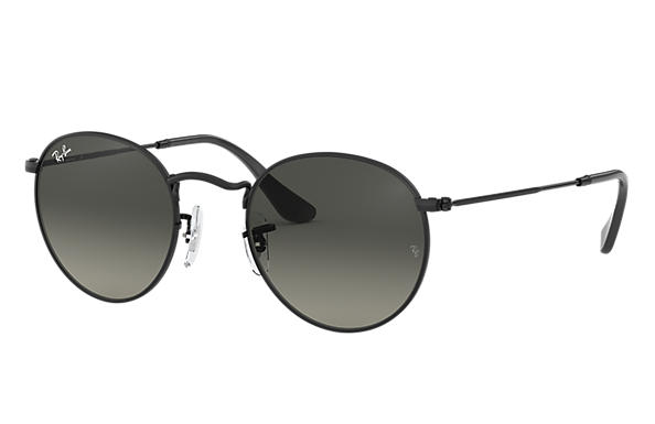 Ray-Ban 0RB3447N-ROUND FLAT LENSES Black SUN