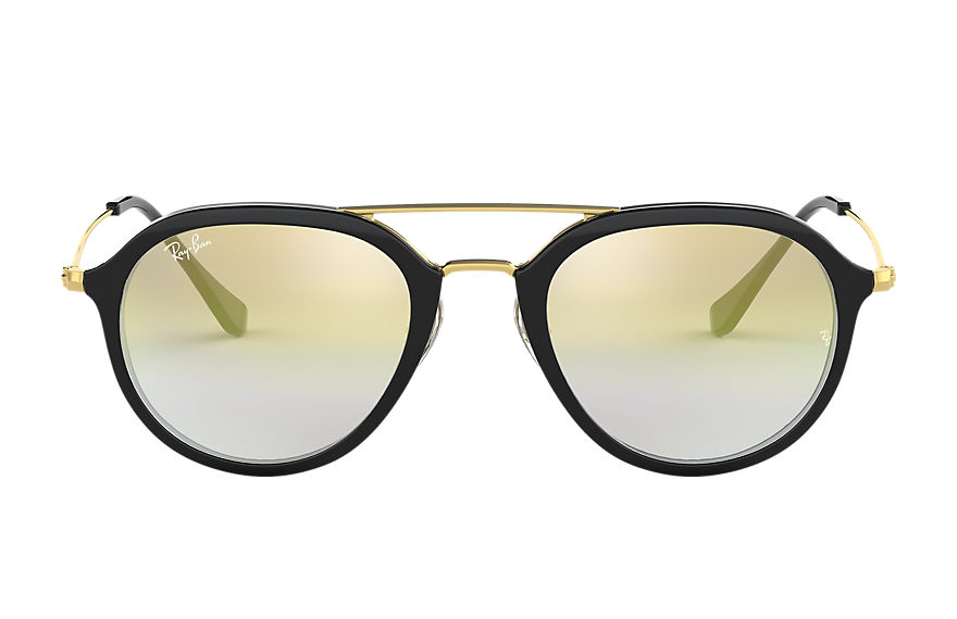 Ray-Ban RB4253 Black with Gold Gradient lens