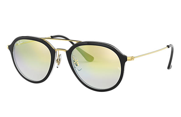 Ray-Ban 0RB4253-RB4253 Black,Transparent; Gold SUN