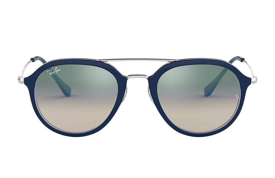 Ray-Ban RB4253 Blue with Green Gradient lens