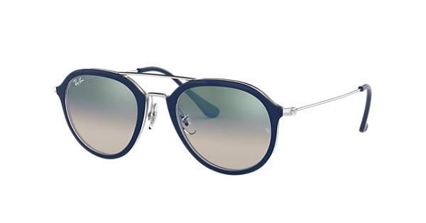 0d91e11de0ea7 Ray-Ban RB4253 Blue - Propionate - Green Lenses - 0RB425360533A50   Ray-Ban®  USA