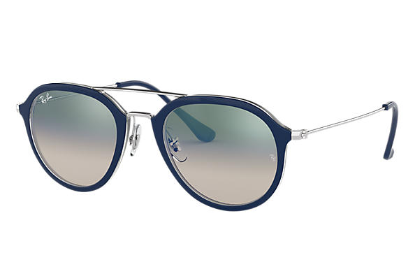 Ray-Ban 0RB4253-RB4253 Blue,Transparent; Silver SUN