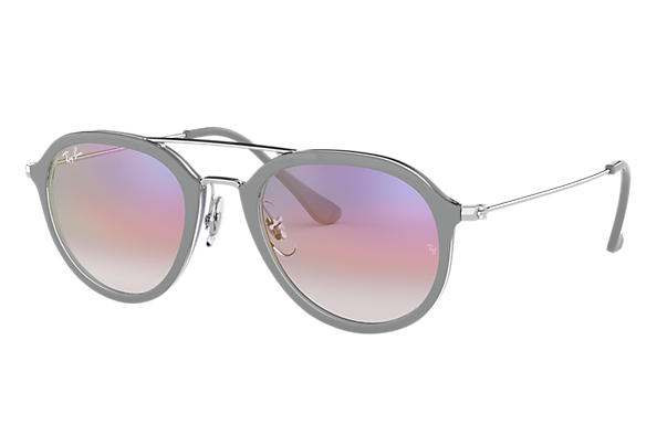 Ray-Ban 0RB4253-RB4253 Grey,Transparent; Silver SUN