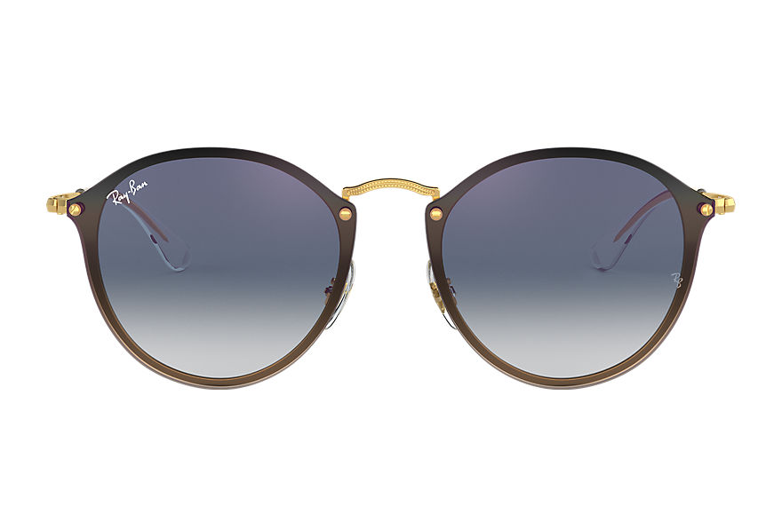 Ray-Ban  sunglasses RB3574N UNISEX 008 blaze round gold 8053672879292