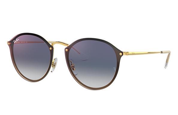 Ray-Ban 0RB3574N-BLAZE ROUND Or SUN