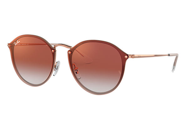 Ray-Ban 0RB3574N-BLAZE ROUND Bronze-Copper SUN
