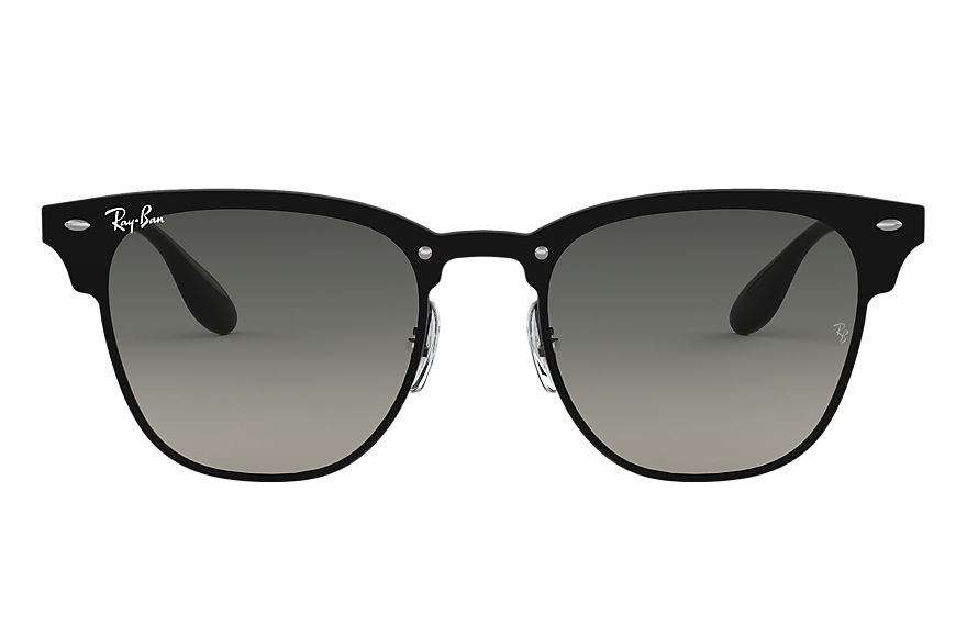 Ray-Ban BLAZE CLUBMASTER Black with Grey Gradient lens