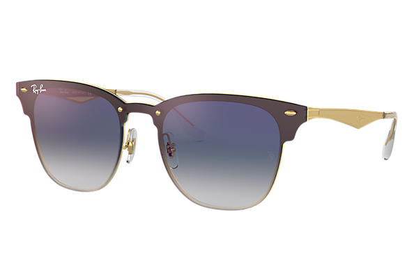 Ray-Ban 0RB3576N-BLAZE CLUBMASTER Ouro SUN