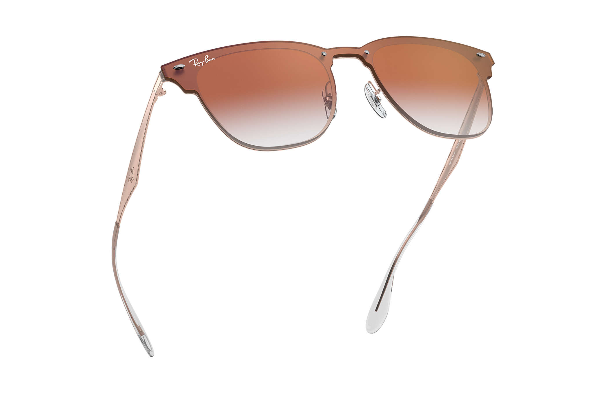 5cd17b37a8142 ... official ray ban clubmaster aluminum bronze sunglasses 5b58c 7a23f