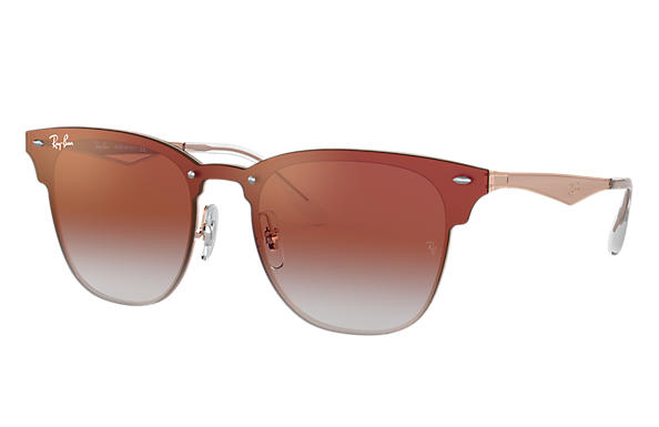 Ray-Ban 0RB3576N-BLAZE CLUBMASTER Bronze-Copper SUN