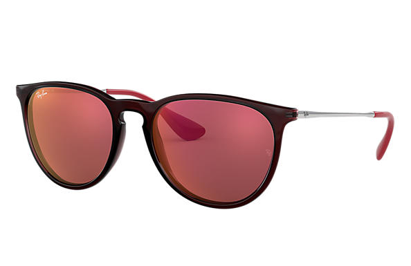 Ray-Ban 0RB4171-ERIKA COLOR MIX Brown; Silver SUN