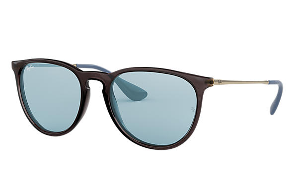297d2685f Ray-Ban Erika Color Mix RB4171 Grey - Nylon - Light Blue Lenses ...