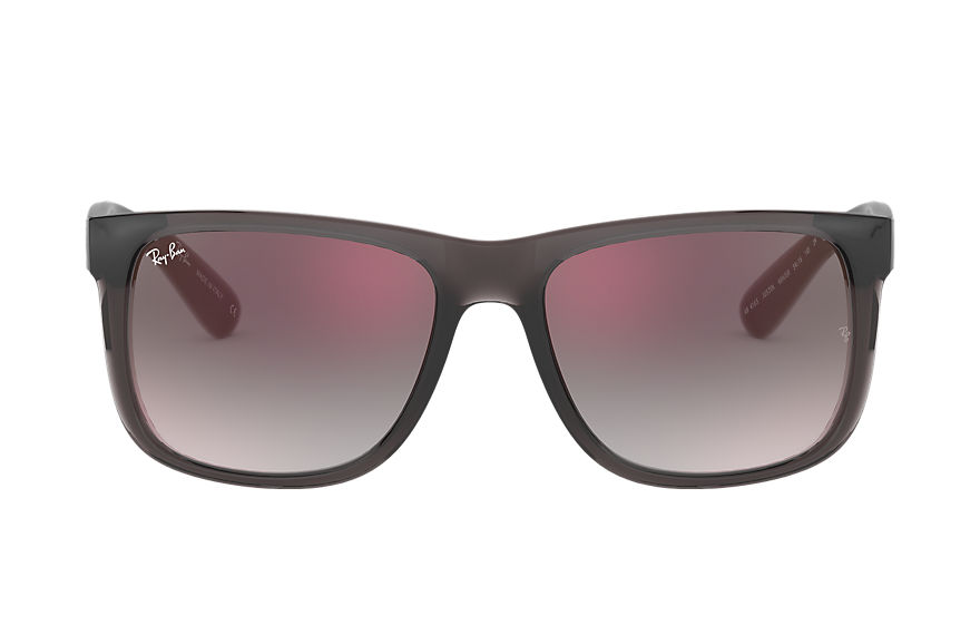 Ray-Ban  lunettes de soleil RB4165 MALE 007 justin flash gradient lenses gris 8053672879704