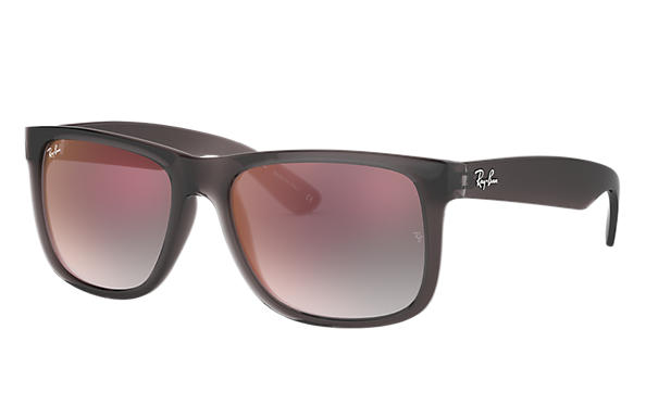 Ray-Ban 0RB4165-JUSTIN FLASH GRADIENT LENSES Grijs SUN