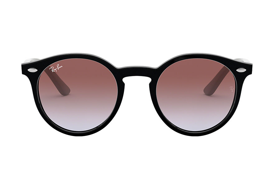 Ray-Ban RJ9064S Black with Violet Gradient lens