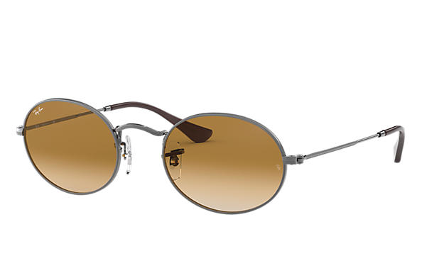 Ray-Ban 0RB3547N-OVAL FLAT LENSES 黑色 SUN
