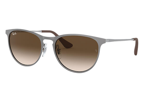 Ray-Ban 0RJ9538S-ERIKA METAL JUNIOR Gunmetal SUN