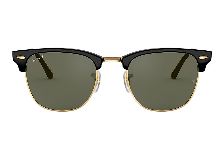 Ray-Ban  sunglasses RB3016F UNISEX 008 clubmaster classic low bridge fit black 8053672884005