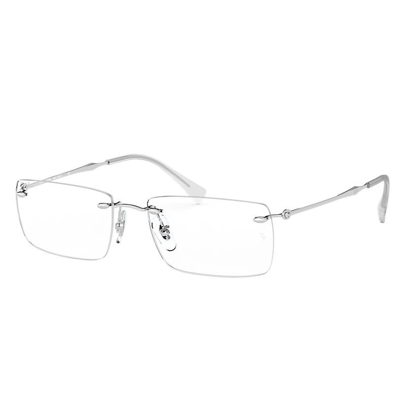 Image of Ray-Ban Silver Eyeglasses - Rb8755