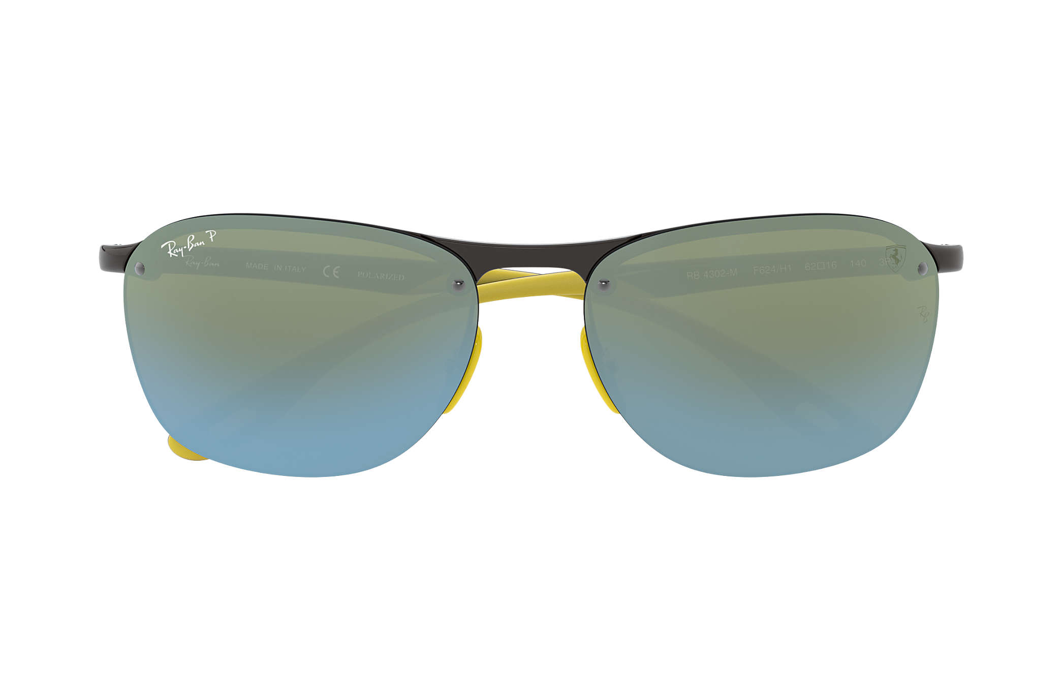Ray-Ban Scuderia Ferrari Collection Rb4302m RB4302M Gris - Injected ... 1ccda8b09048
