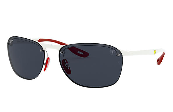 Ray-Ban 0RB4302M-SCUDERIA FERRARI COLLECTION RB4302M Bianco; Bianco,Rosso SUN