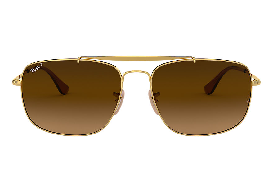 Ray-Ban  lunettes de soleil RB3560 MALE 007 colonel or 8053672887570