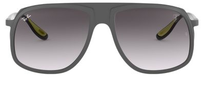 Ray-Ban SCUDERIA FERRARI COLLECTION RB4308M Grey with Grey Gradient lens