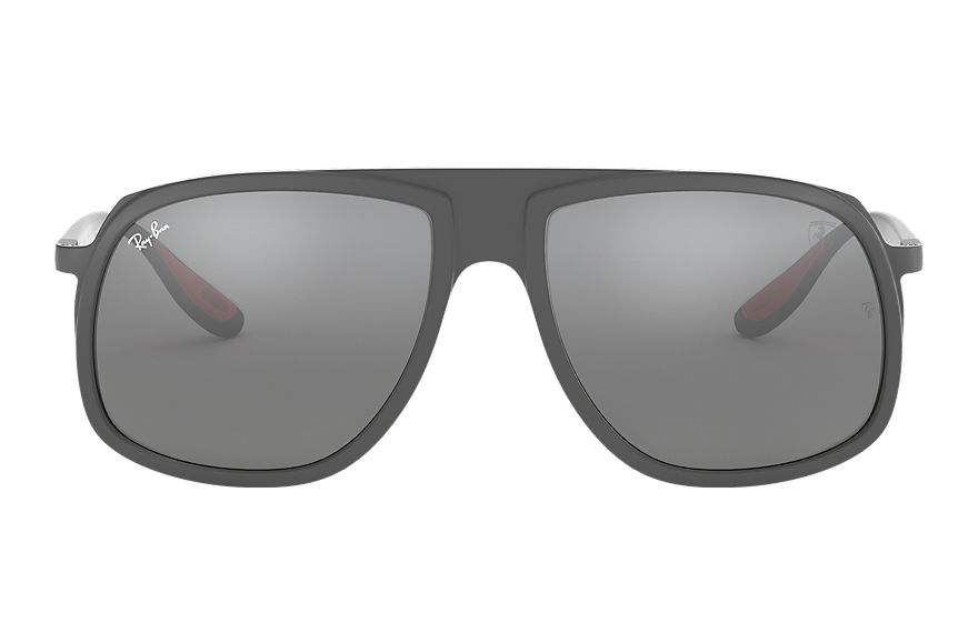 Ray-Ban  lunettes de soleil RB4308M MALE 002 scuderia ferrari collection rb4308m gris 8053672897197