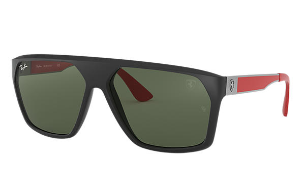 Ray-Ban 0RB4309M-SCUDERIA FERRARI COLLECTION RB4309M Black; Gunmetal,Red SUN