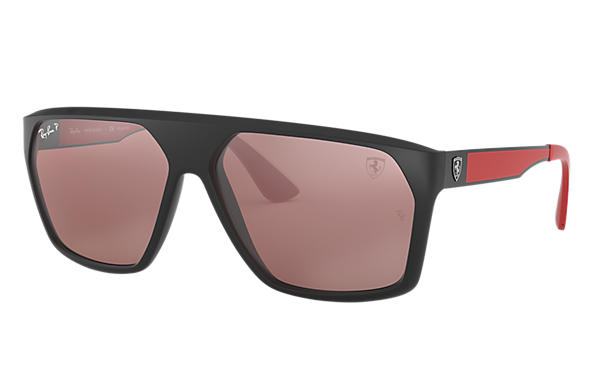 Ray-Ban 0RB4309M-SCUDERIA FERRARI COLLECTION RB4309M Black; Black,Red SUN