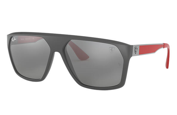 Ray-Ban 0RB4309M-SCUDERIA FERRARI COLLECTION RB4309M Grey; Gunmetal,Red SUN