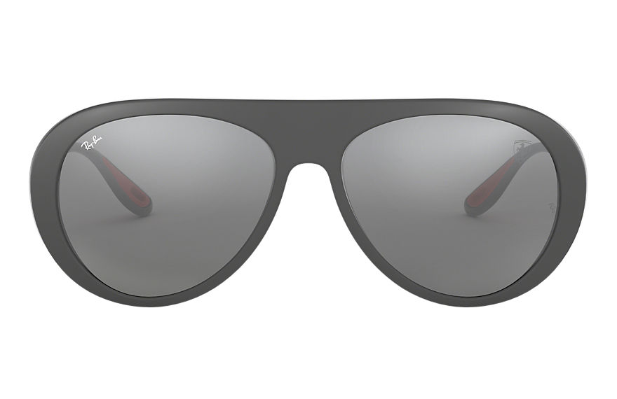 Ray-Ban RB4310M SCUDERIA FERRARI COLLECTION Grey with Grey Mirror lens