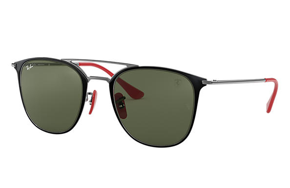 Ray-Ban 0RB3601M-SCUDERIA FERRARI COLLECTION RB3601M Black,Gunmetal; Gunmetal SUN