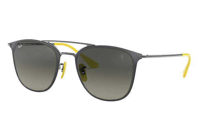 a27b646823 Ray-Ban SCUDERIA FERRARI COLLECTION RB3601M RB3601M Black - Steel - Silver  Lenses - 0RB3601MF0223052