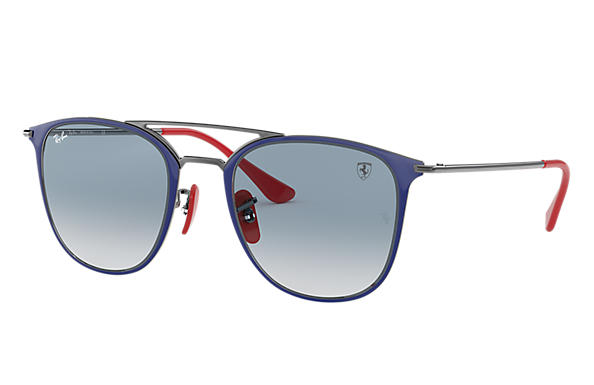 Ray-Ban 0RB3601M-SCUDERIA FERRARI COLLECTION RB3601M Blue,Gunmetal; Gunmetal SUN