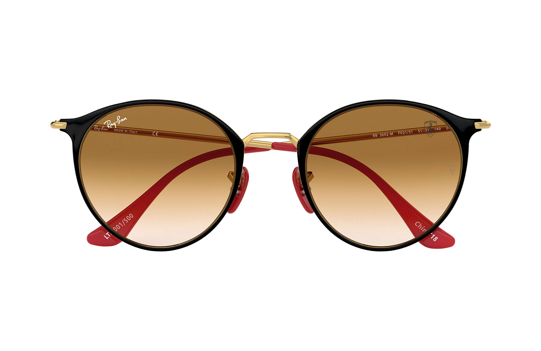 Ray-Ban Scuderia Ferrari China Limited Edition Schwarz,Gold Gold ...