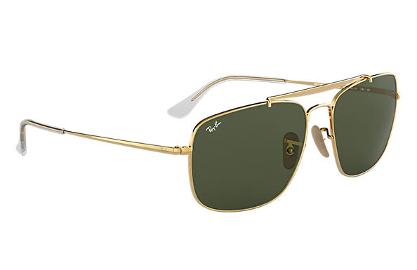 af2159a165 Ray-Ban Colonel RB3560 Oro - Steel - Lentes Verde - 0RB356000158 ...