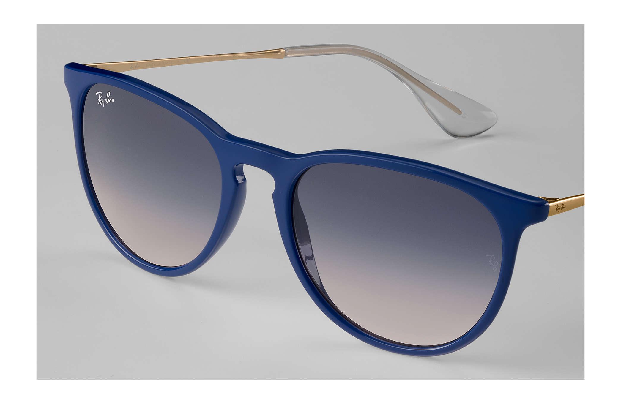 4300bfc2ba15e3 Ray-Ban Erika  collection RB4171 Blauw - Nylon - Blauw Brillenglazen ...