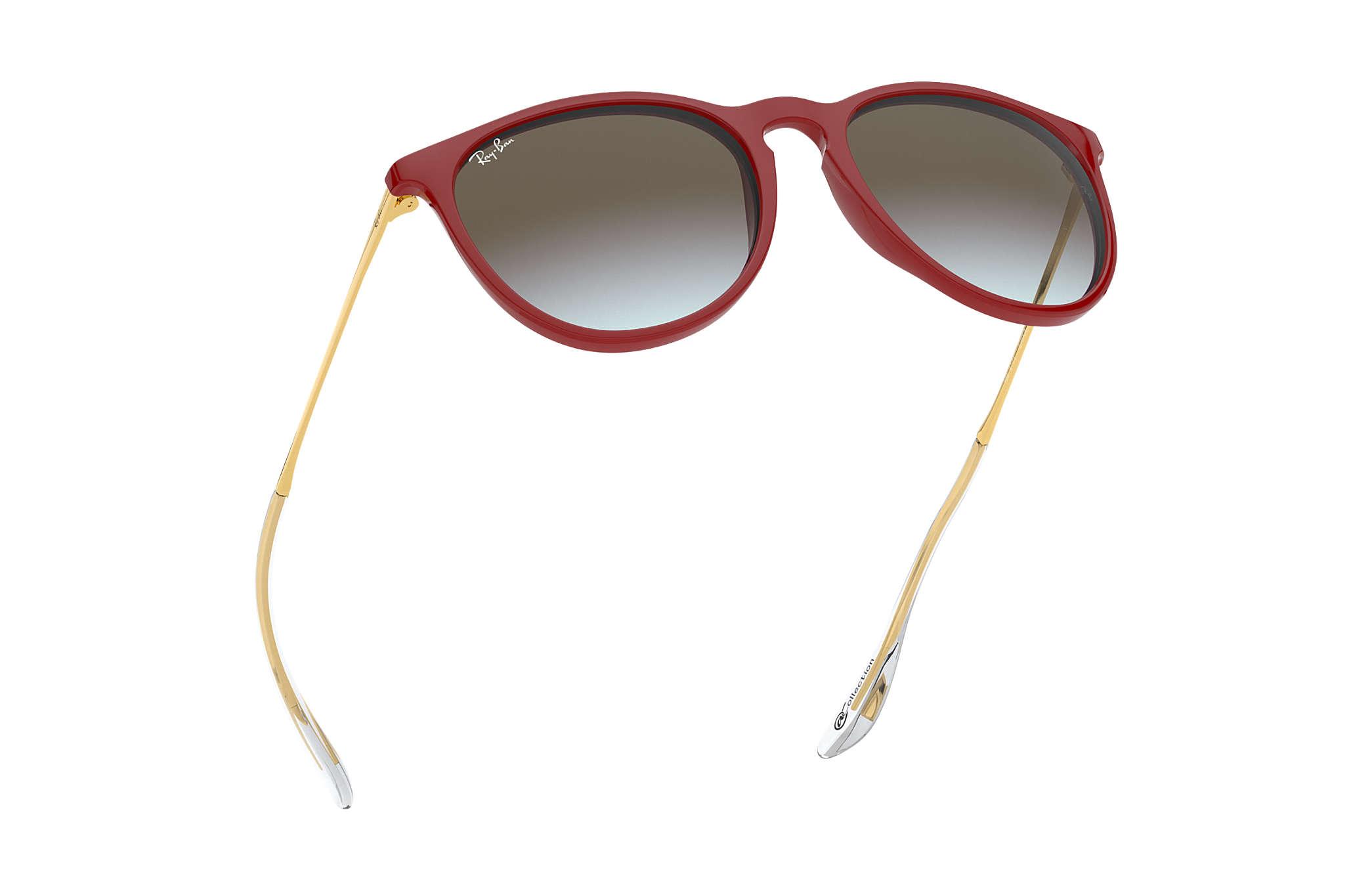 a39d692ad3 Ray-Ban Erika @collection RB4171 Rojo - Nylon - Lentes Marrón ...