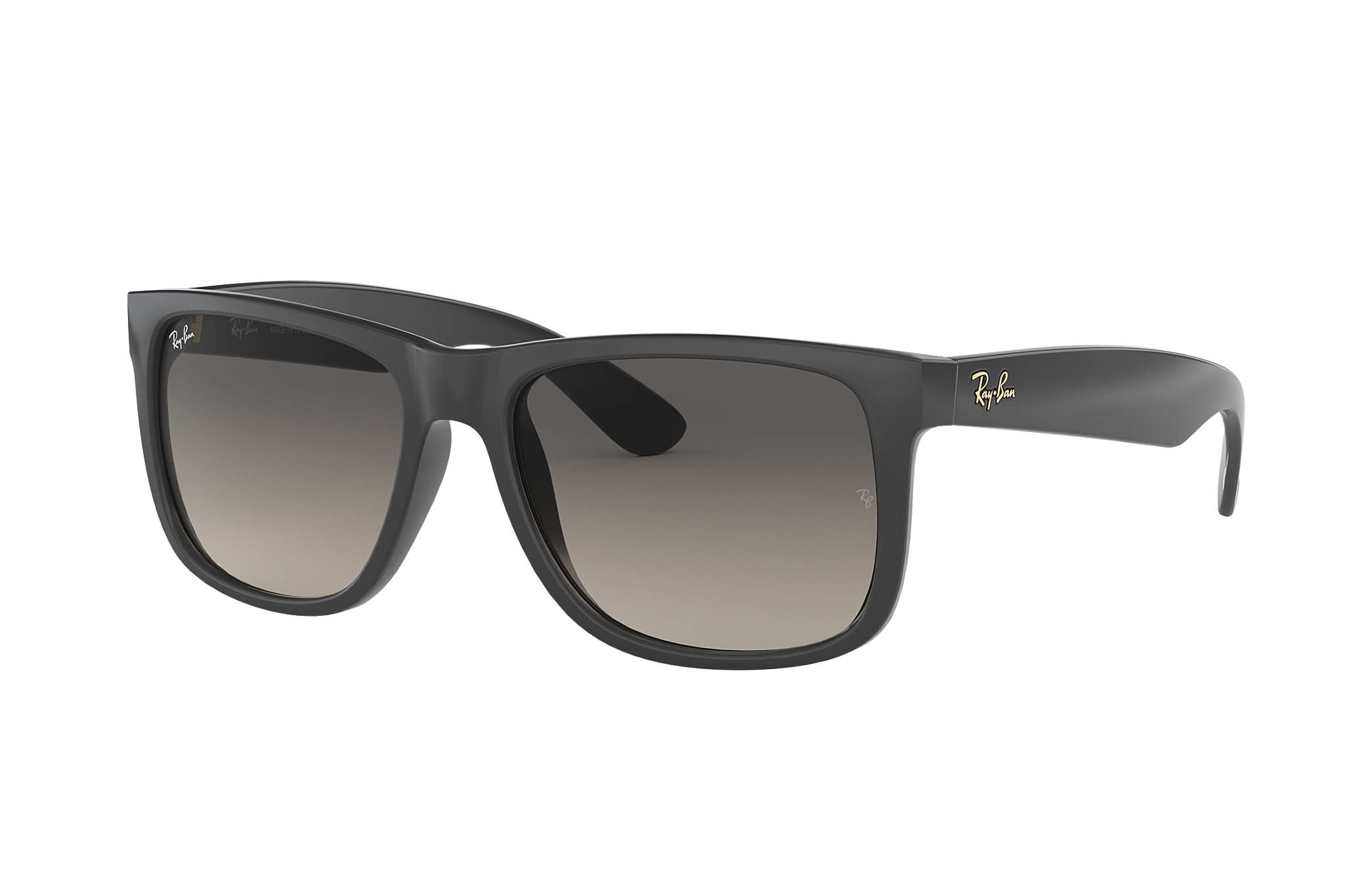 4f7dfc607b Ray-Ban Justin  collection RB4165 Grey - Nylon - Grey Lenses ...