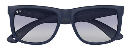 Ray-Ban JUSTIN @Collection Blue with Blue Gradient lens