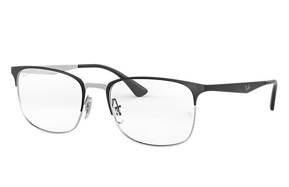 4a19d410398 Ray-Ban prescription glasses RB6421 Black - Metal - 0RX6421299752 ...