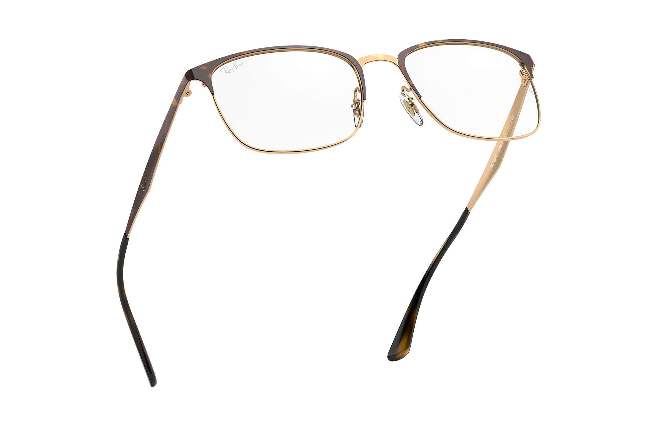 3e68be0f93a Ray-Ban eyeglasses RB6421 Tortoise - Metal - 0RX6421300152