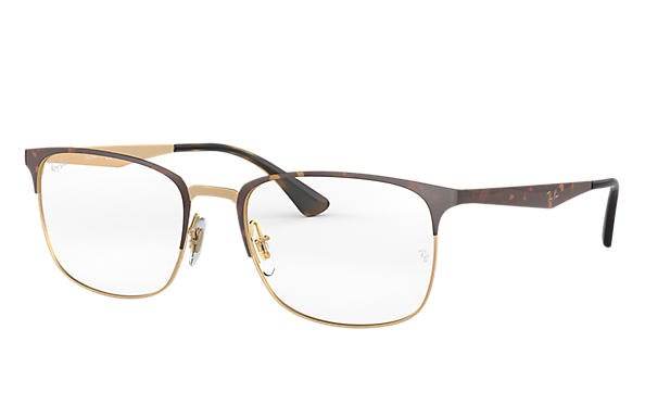 Ray-Ban 0RX6421-RB6421 Tortoise,Gold OPTICAL