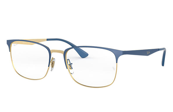 Ray-Ban 0RX6421-RB6421 Blau,Gold OPTICAL