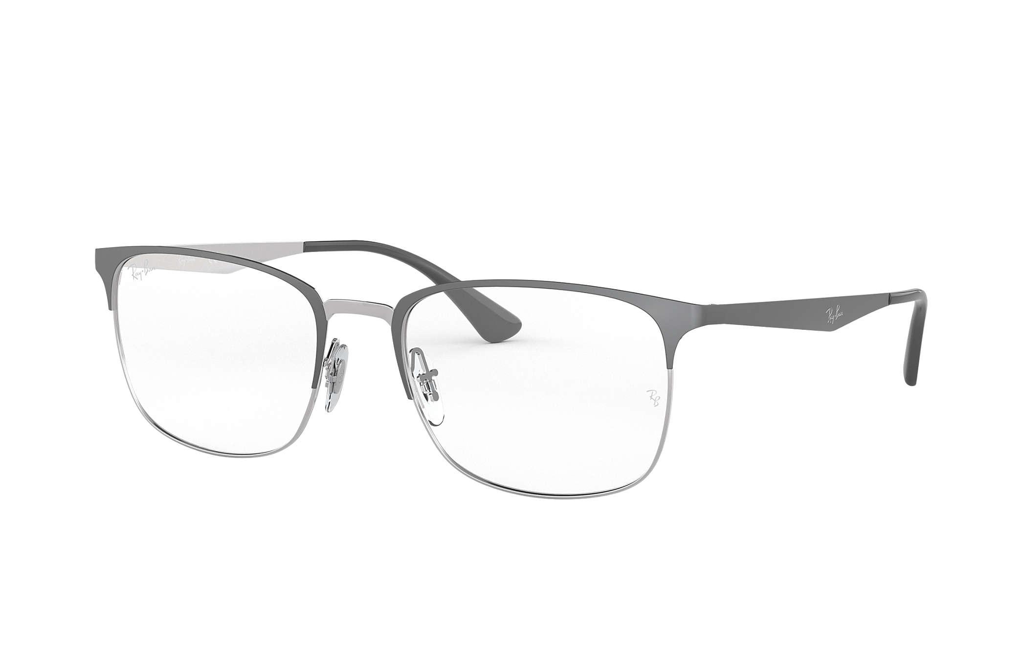 1f69ea717 Óculos de grau Ray-Ban RB6421 Cinzento - Metal - 0RX6421300454   Ray ...