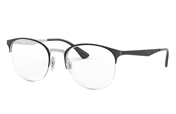 Ray-Ban 0RX6422-RB6422 Nero,Argento OPTICAL