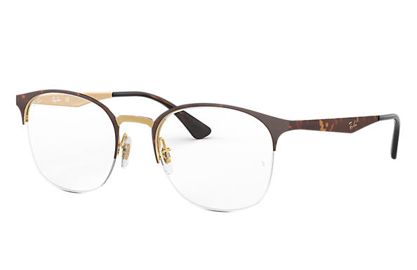 Ray-Ban 0RX6422-RB6422 Tortoise,Gold OPTICAL