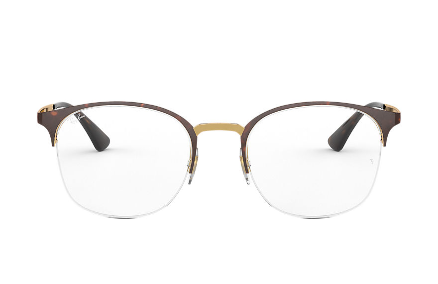 Ray-Ban  eyeglasses RX6422 FEMALE 002 rb6422 玳瑁色 8053672915143